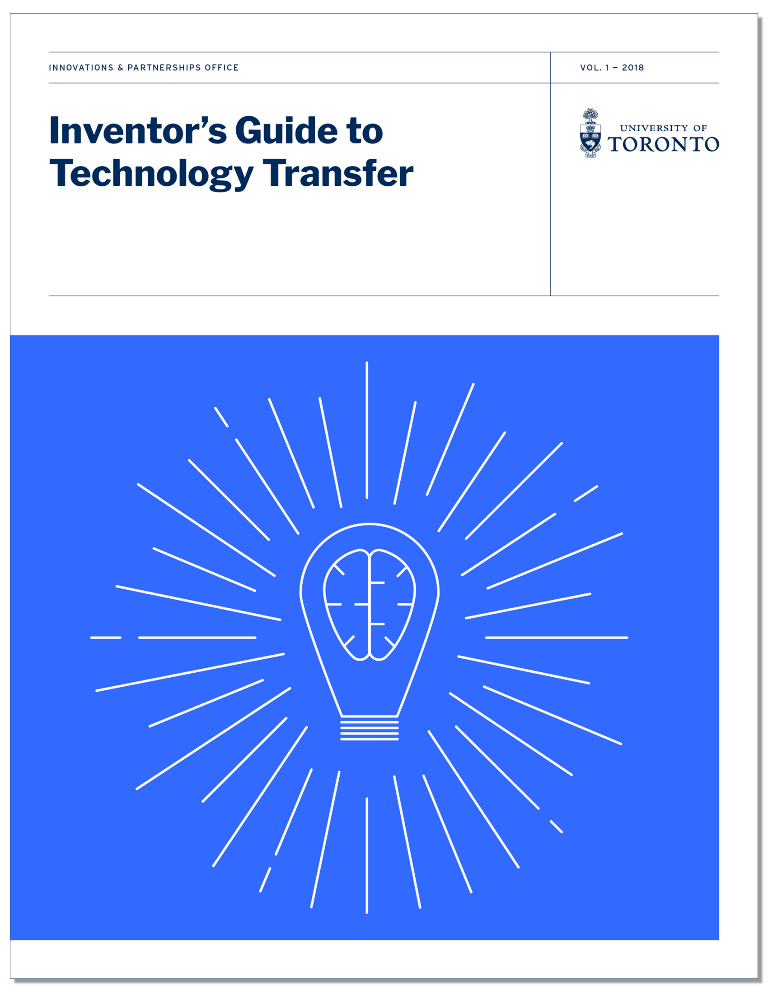 Cover of Inventor's Guide to Tech Transfer